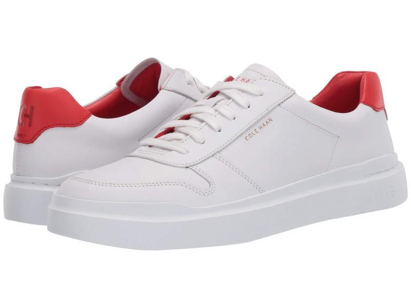 コールハーン レディース スニーカー シューズ Grandpro Rally Court Sneaker Optic White/Fla