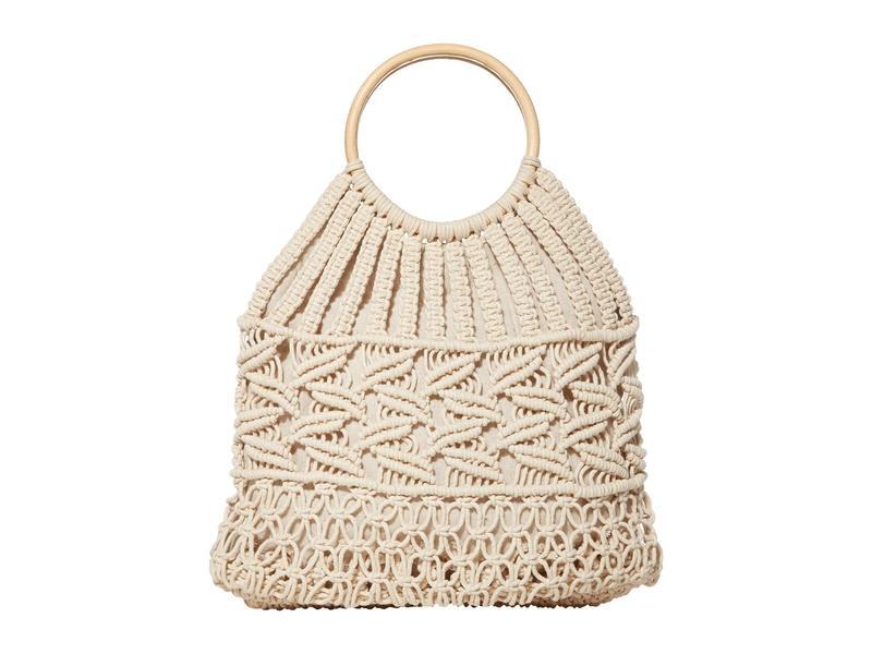 ハットアタック レディース ハンドバッグ バッグ Cotton Cord Bag Ivory