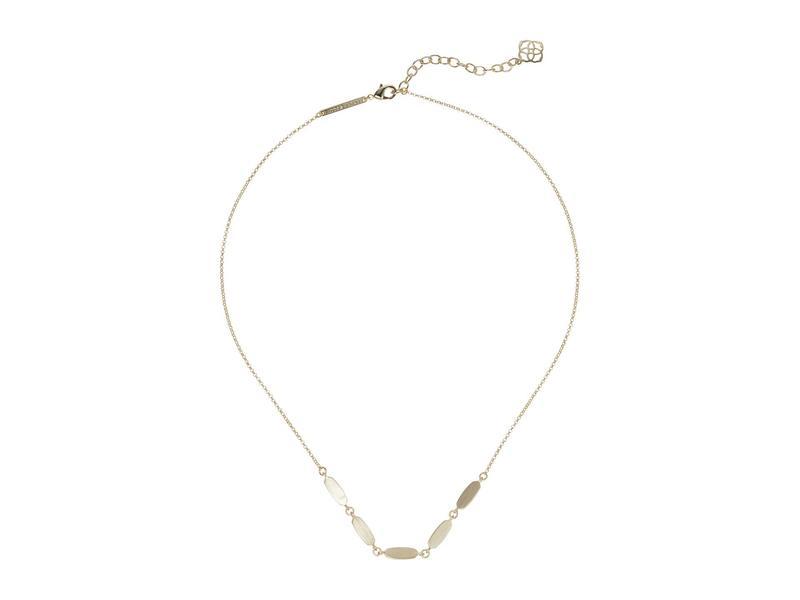 ケンドラスコット レディース ネックレス・チョーカー・ペンダントトップ アクセサリー Fern Short Strand Necklace Gold Metal