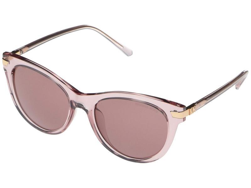 マイケルコース レディース サングラス・アイウェア アクセサリー MK2112U Bar Harbor Cat Eye Sunglasses 54mm Transparent Bra
