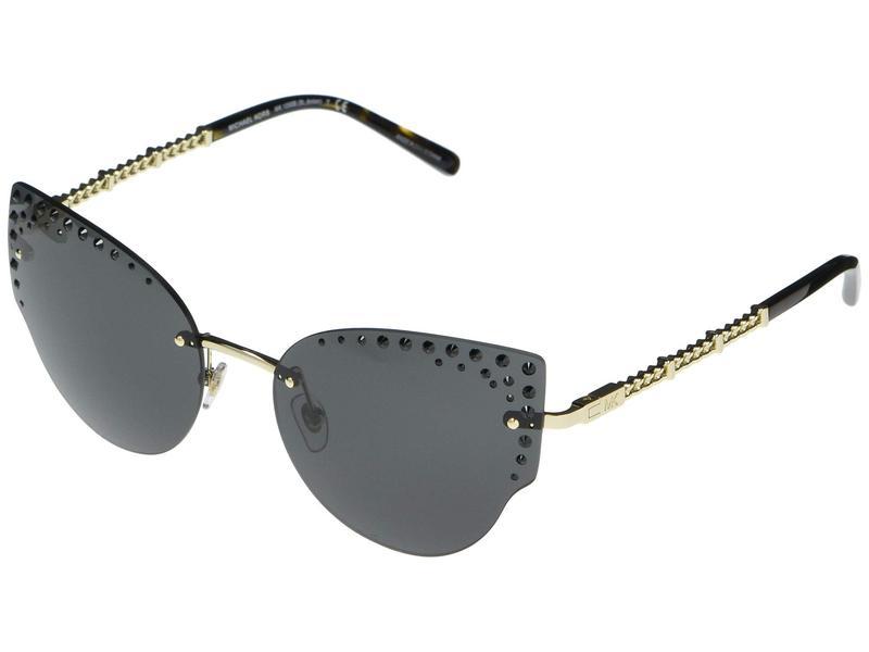 マイケルコース レディース サングラス・アイウェア アクセサリー MK1058B St. Anton Cat Eye Metal Sunglasses 57mm Light Gold