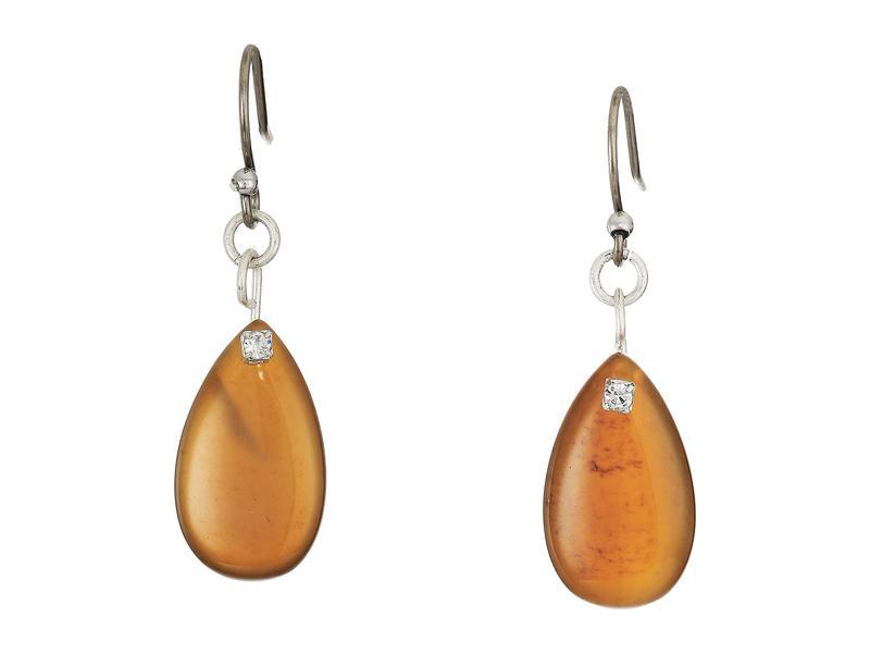 ラッキーブランド レディース ピアス・イヤリング アクセサリー Lace Agate Drop Earrings SilverkwnOXN8Z0P