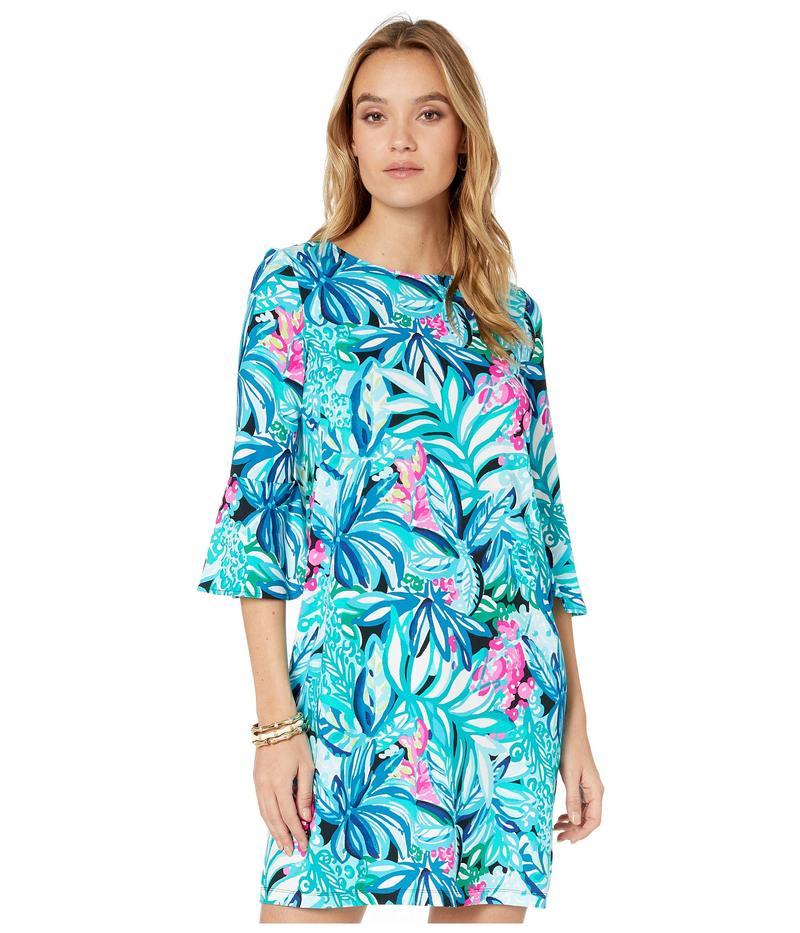 リリーピュリッツァー レディース ワンピース トップス Ophelia Swing Dress Maldives Green