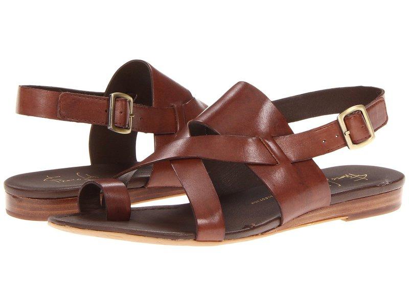 フランコサルト レディース サンダル シューズ Gia by SARTO Chocolate Leather