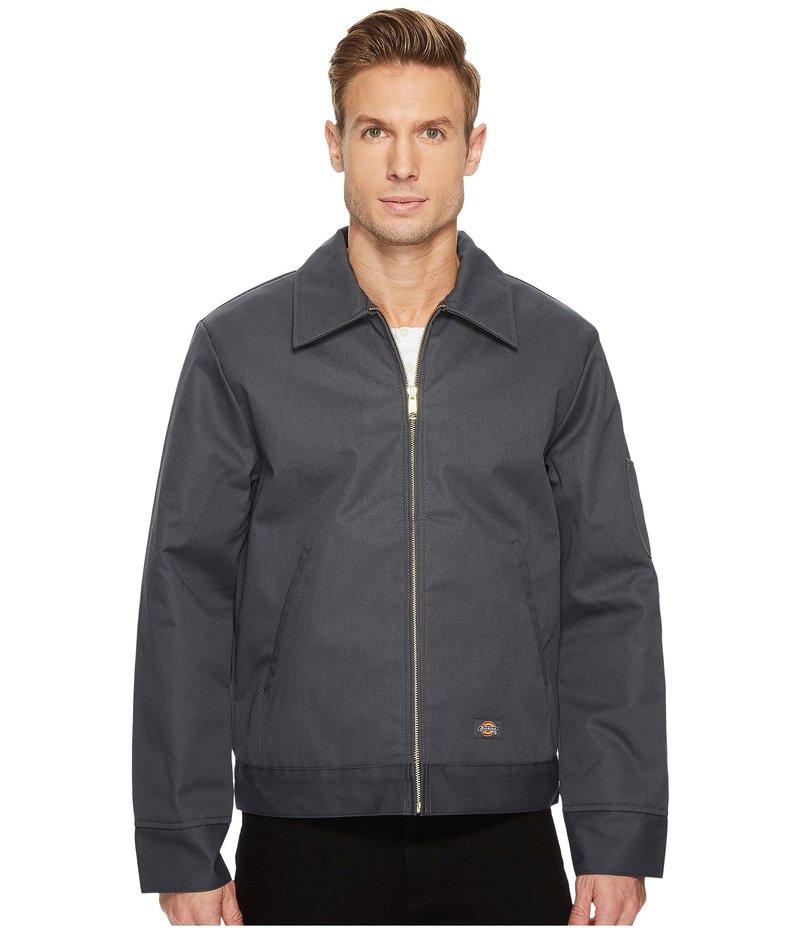 ディッキーズ メンズ コート アウター Insulated Twill Eisenhower Jacket Charcoal