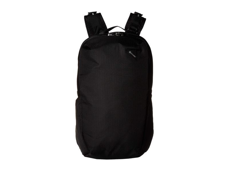 パックセーフ メンズ バックパック・リュックサック バッグ Vibe 25 Anti-Theft 25L Backpack Jet Black