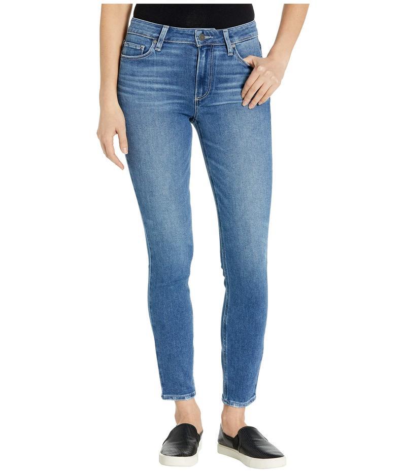 ペイジ レディース デニムパンツ ボトムス Hoxton Ankle Jeans in Summit Distressed Summit Distress
