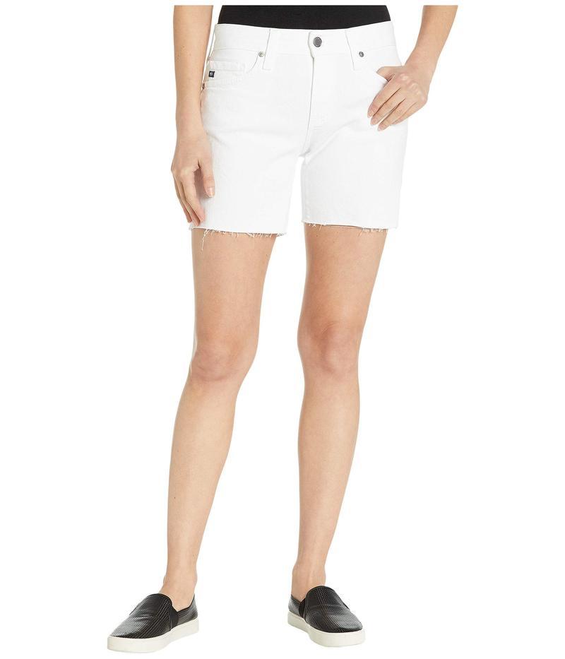 エージー アドリアーノゴールドシュミット レディース ハーフパンツ・ショーツ ボトムス Becke Shorts in White White