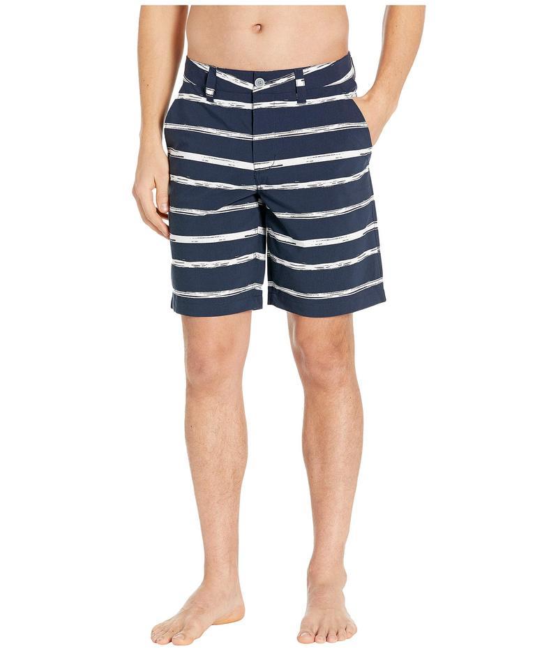 サウザーンタイド メンズ ハーフパンツ・ショーツ ボトムス Sail Tie Stripe T3 Gulf Shorts True Navy
