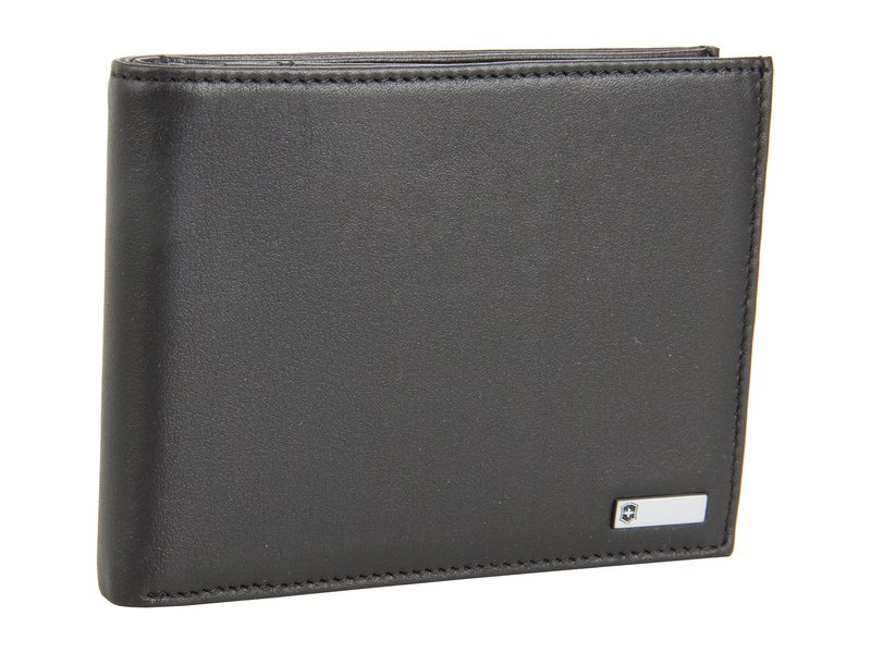 ビクトリノックス メンズ 財布 アクセサリー Altius¢ 3.0 - Innsbruck Leather Deluxe Bi-Fold Organizer W/European ID Window And Coin Pocket Black Leather