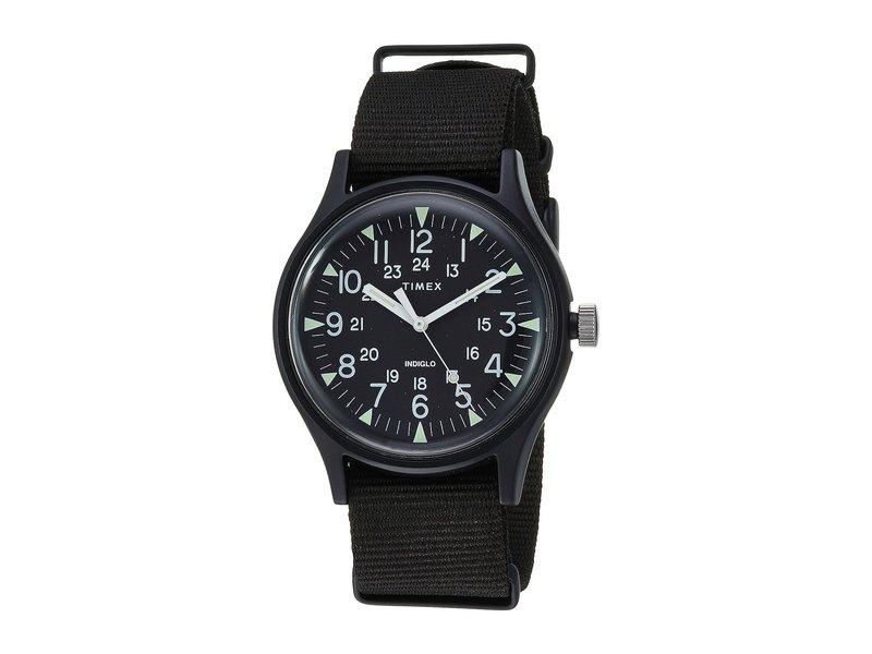 タイメックス メンズ 腕時計 アクセサリー MK1 Aluminum 3-Hand Black/Black