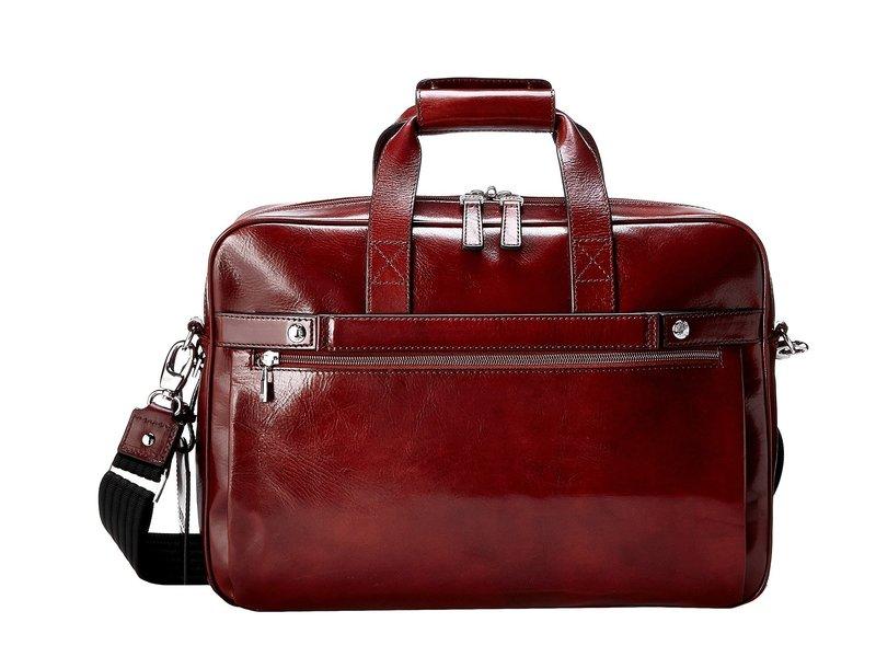 ボスカ メンズ ビジネス系 バッグ Single Gusset Stringer Bag Dark Brown