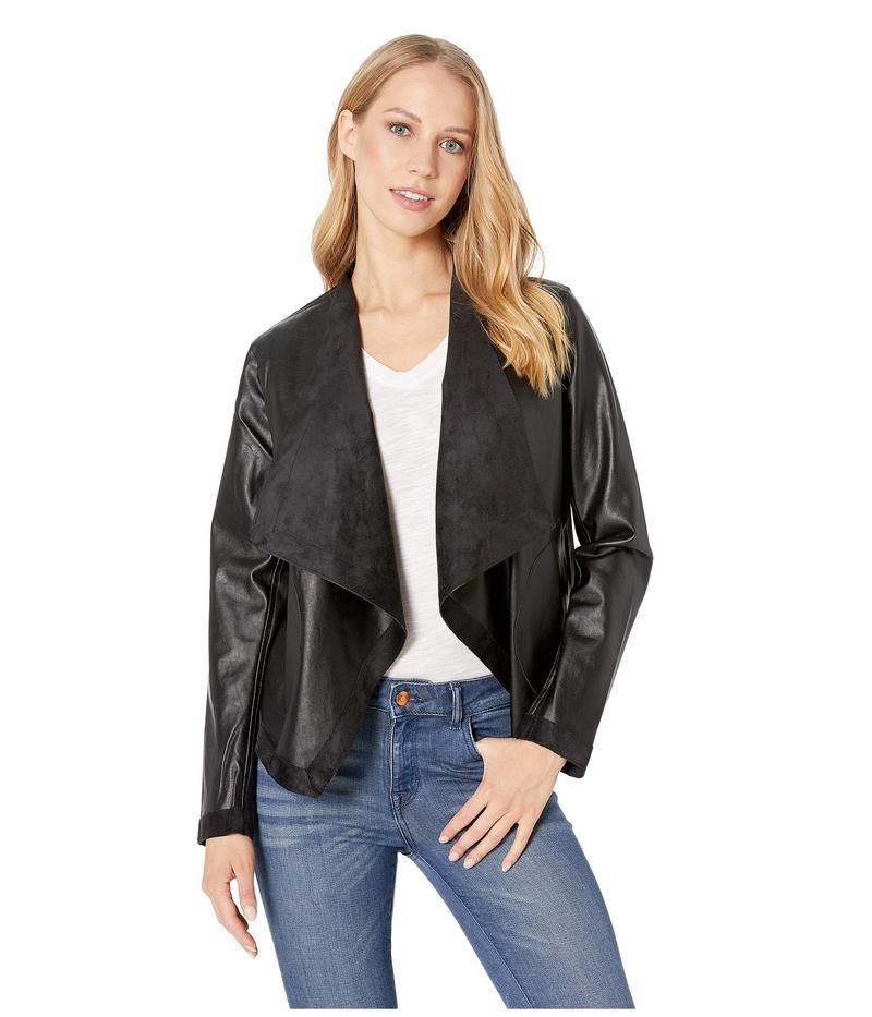 ビービーダコタ レディース コート アウター Teagan Reversible Vegan Leather Jacket Black