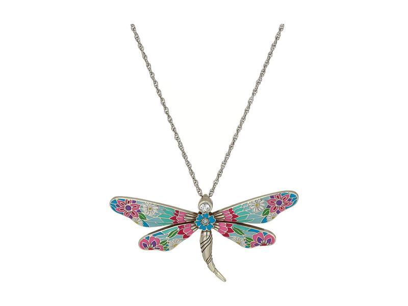 ブライトン レディース ネックレス・チョーカー・ペンダントトップ アクセサリー Enchanted Garden Dragonfly Necklace Multi