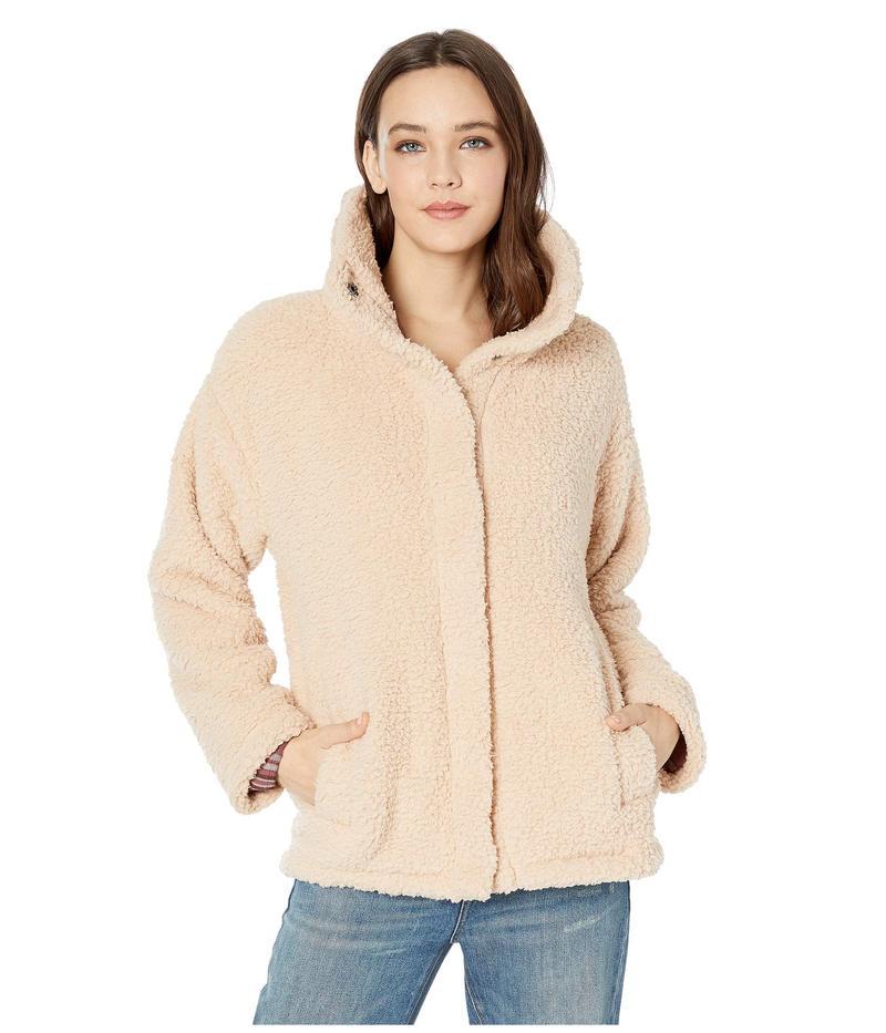 ビラボン レディース コート アウター Cozy Days Sherpa Jacket Antique White
