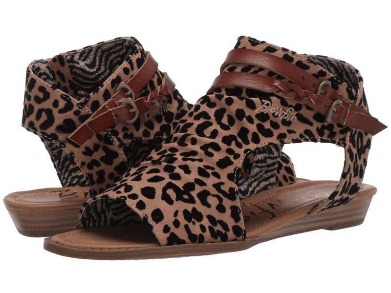 ブローフィッシュ レディース サンダル シューズ Blumoon Leopard Sahara Leopard