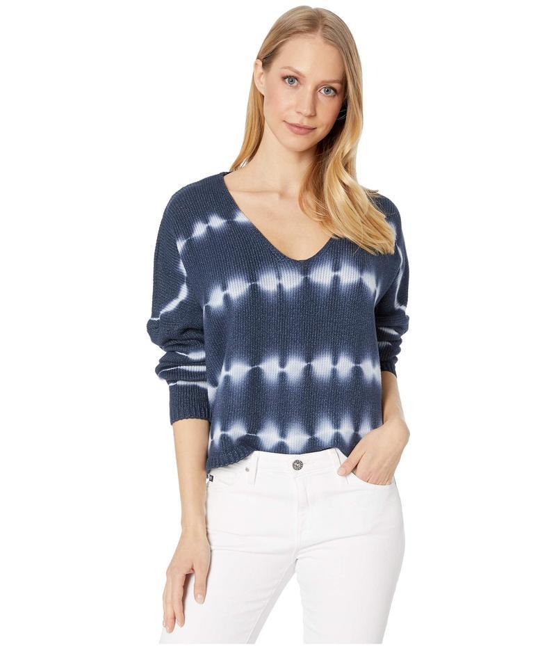 ブランクニューヨーク レディース ニット・セーター アウター Tie-Dye V-Neck Sweater Grey Dagger