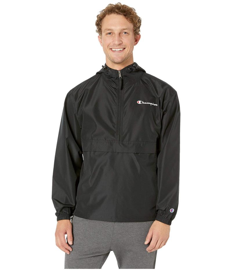 チャンピオン メンズ コート アウター Packable Jacket Black