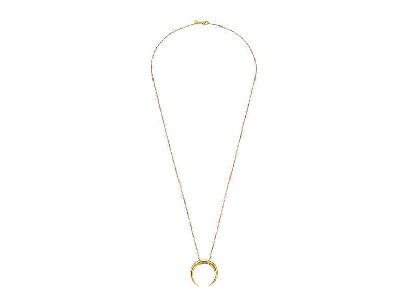 ゴリアナ レディース ネックレス・チョーカー・ペンダントトップ アクセサリー Cayne Crescent Pendant Necklace Gold