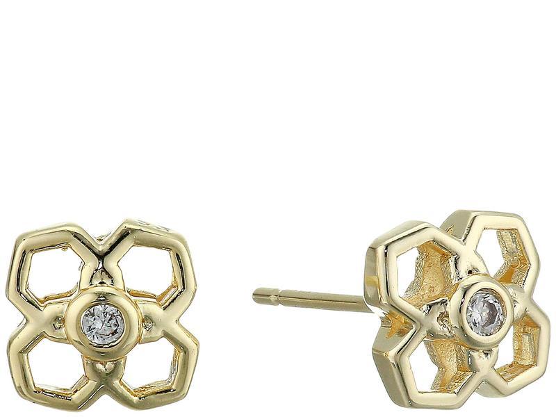 ケンドラスコット レディース ピアス・イヤリング アクセサリー Rue Stud Earrings Gold Metal