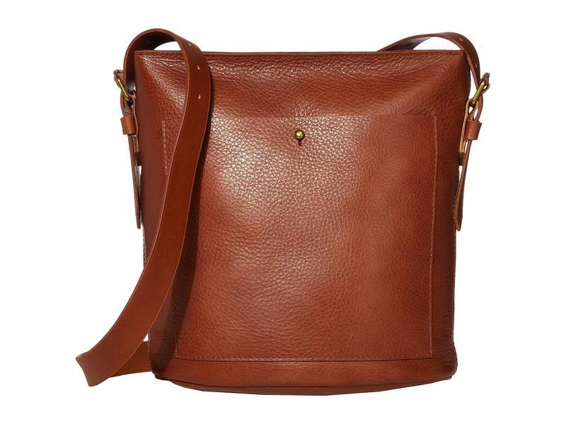 メイドウェル レディース ハンドバッグ バッグ Classic Transport Bucket Bag English Saddle