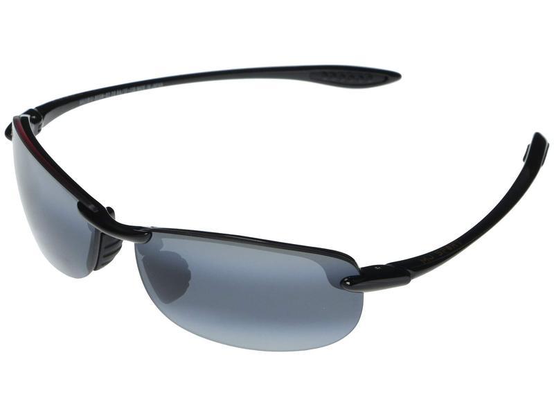 マウイジム メンズ サングラス・アイウェア アクセサリー Makaha Reader Asian Fit 2.00 Gloss Black/Neu