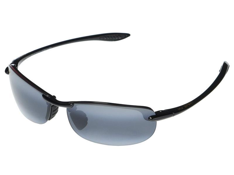 マウイジム メンズ サングラス・アイウェア アクセサリー Makaha Reader Asian Fit 2.50 Gloss Black/Neu