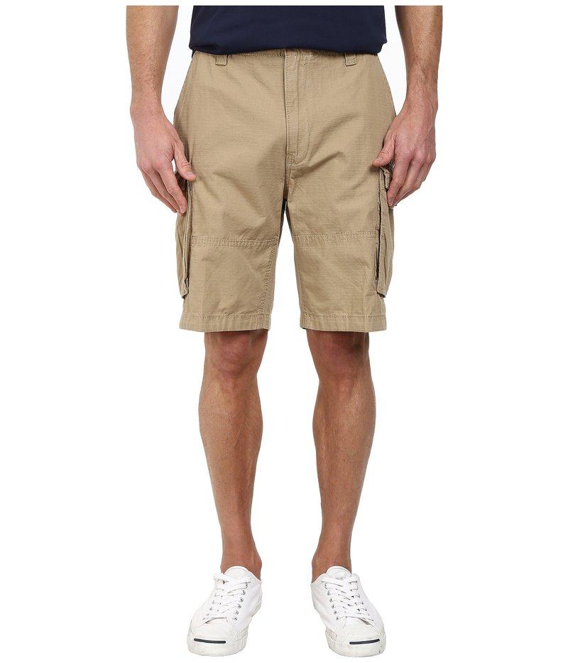 ナウティカ メンズ ハーフパンツ・ショーツ ボトムス Ripstop Cargo Shorts Tuscan Tan