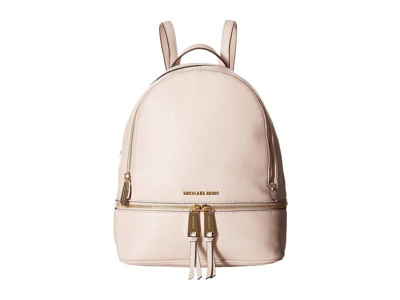 マイケルコース レディース バックパック・リュックサック バッグ Rhea Zip Medium Backpack Soft Pink
