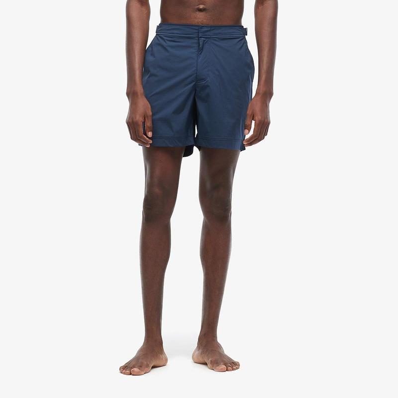 オールバー ブラウン メンズ ハーフパンツ・ショーツ 水着 Bulldog Sport Swim Shorts Navy