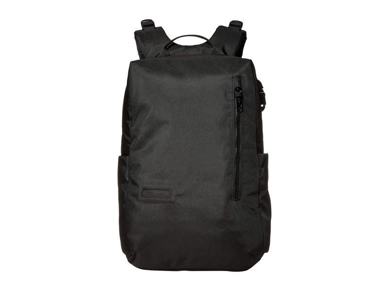 パックセーフ メンズ バックパック・リュックサック バッグ Intasafe Backpack Anti-Theft 20L Laptop Backpack Black