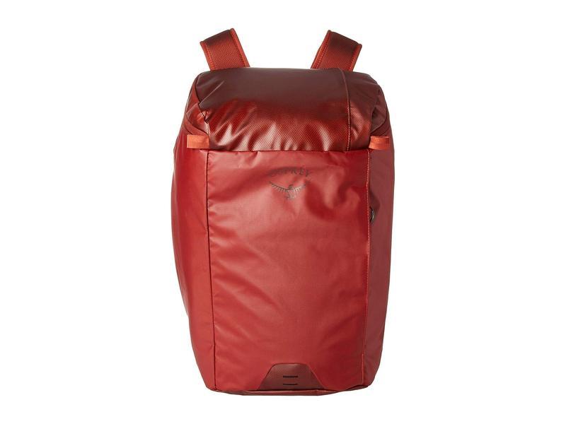 オスプレー メンズ バックパック・リュックサック バッグ Transporter Zip Top Ruffian Red