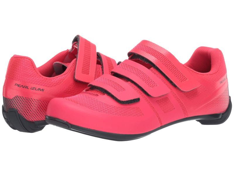 パールイズミ レディース スニーカー シューズ Quest Road Cycling Shoe Atomic Red/Turb