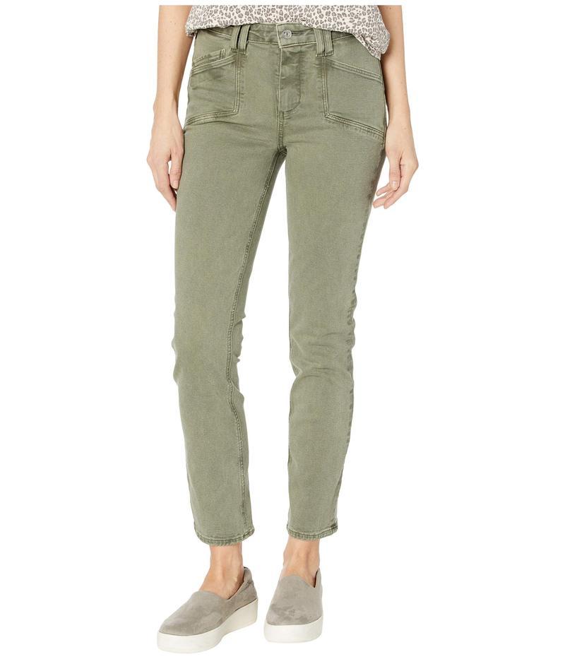 ペイジ レディース デニムパンツ ボトムス Cindy Jeans w/ Set in Pockets in Vintage Emerald Moss Vintage Emerald