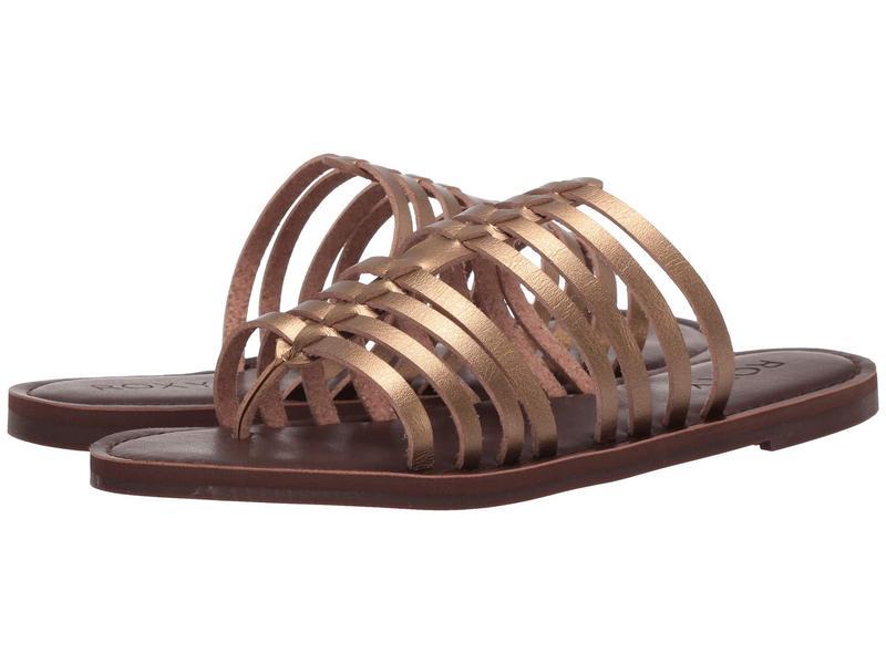 ロキシー レディース サンダル シューズ Tia Multi-Strap Sandals Bronze