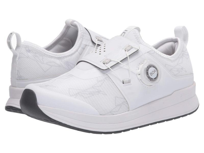 シマノ レディース スニーカー シューズ IC3 Indoor Cycling Shoe White