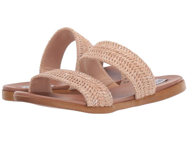スティーブ マデン レディース サンダル シューズ Dual Flat Sandal Natural Raffia