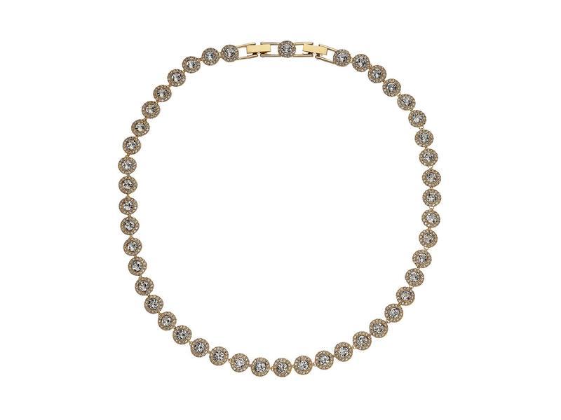 スワロフスキー レディース ネックレス・チョーカー・ペンダントトップ アクセサリー Angelic All-Around Round Necklace Crystal