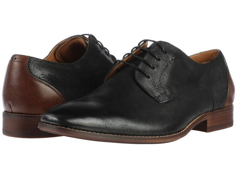 スティーブ マデン メンズ オックスフォード シューズ Dixxen Oxford Black Leather