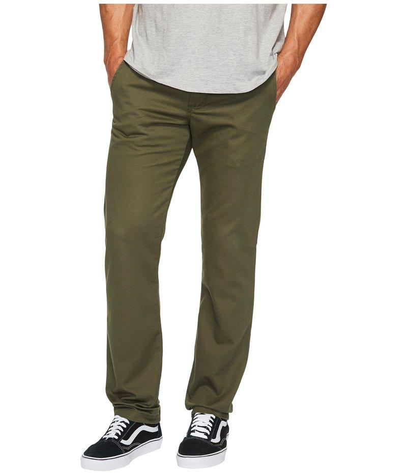 バンズ メンズ カジュアルパンツ ボトムス Authentic Stretch Chino Pants Grape Leaf