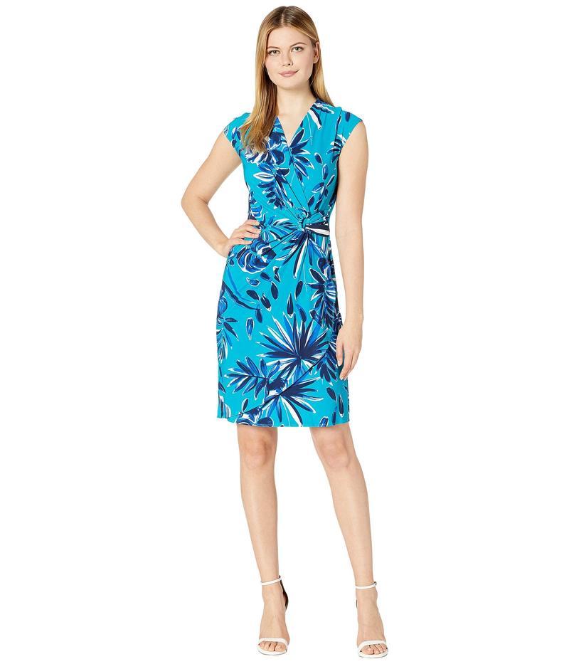 トッミーバハマ レディース ワンピース トップス Botanical Blitz Dress Short Sleeve Amalfi Sea