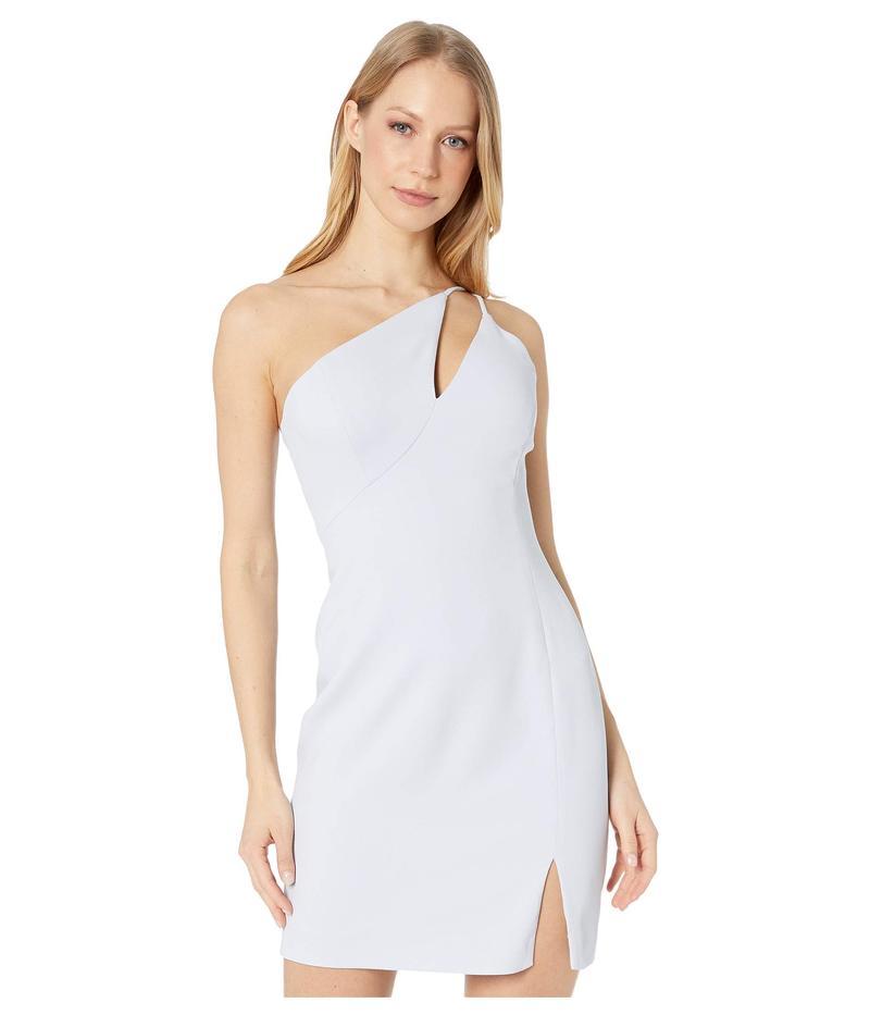 ビーシービージーマックスアズリア レディース ワンピース トップス One Shoulder Cut Out Short Cocktail Dress Arctic Blue