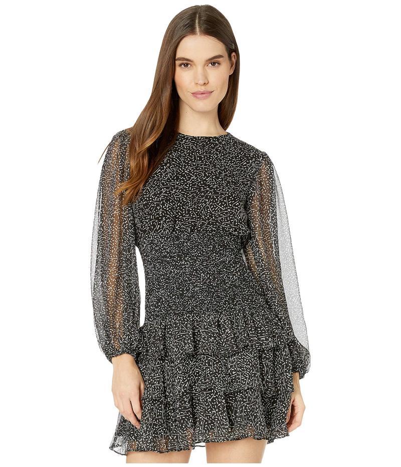 バードット レディース ワンピース トップス Elaina Mini Dress Speckle