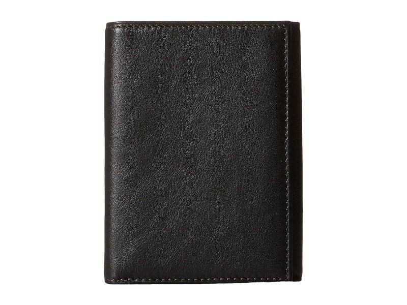 ボスカ メンズ 財布 アクセサリー Nappa Vitello Collection - Trifold Wallet Black Leather