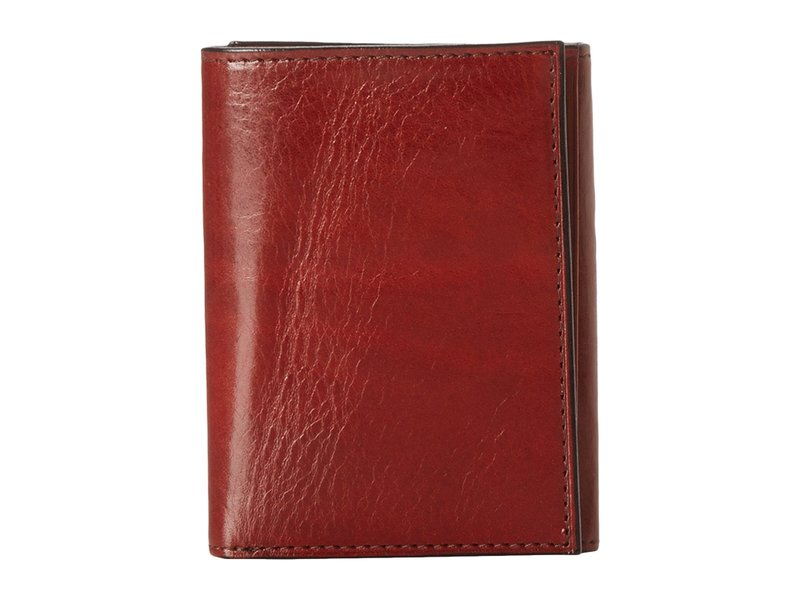 ボスカ メンズ 財布 アクセサリー Old Leather Collection - Trifold Wallet Cognac Leather