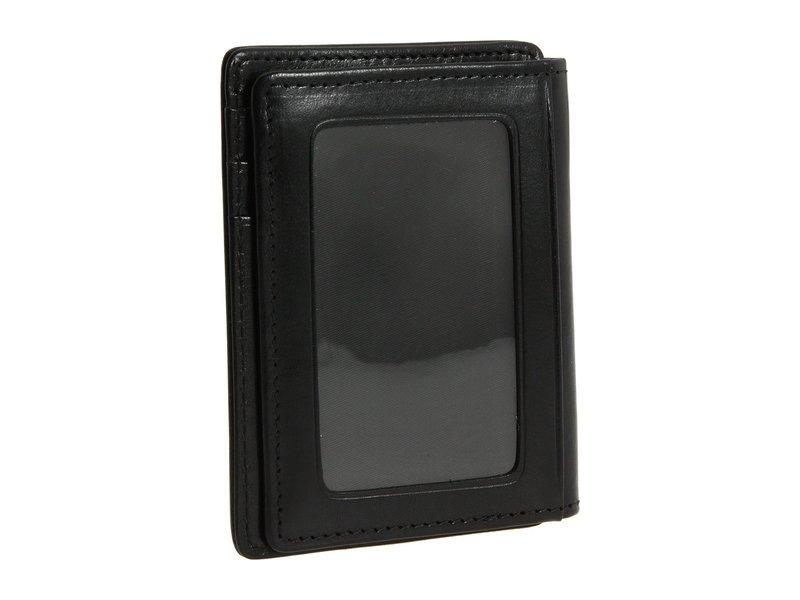 ボスカ メンズ 財布 アクセサリー Old Leather Collection - Front Pocket Wallet Black Leather