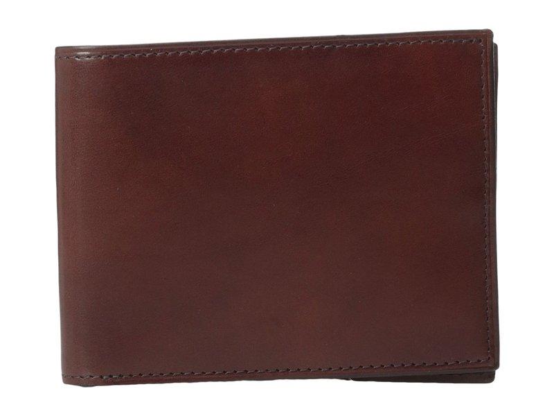 ボスカ メンズ 財布 アクセサリー Old Leather Collection - Executive ID Wallet Dark Brown Leat