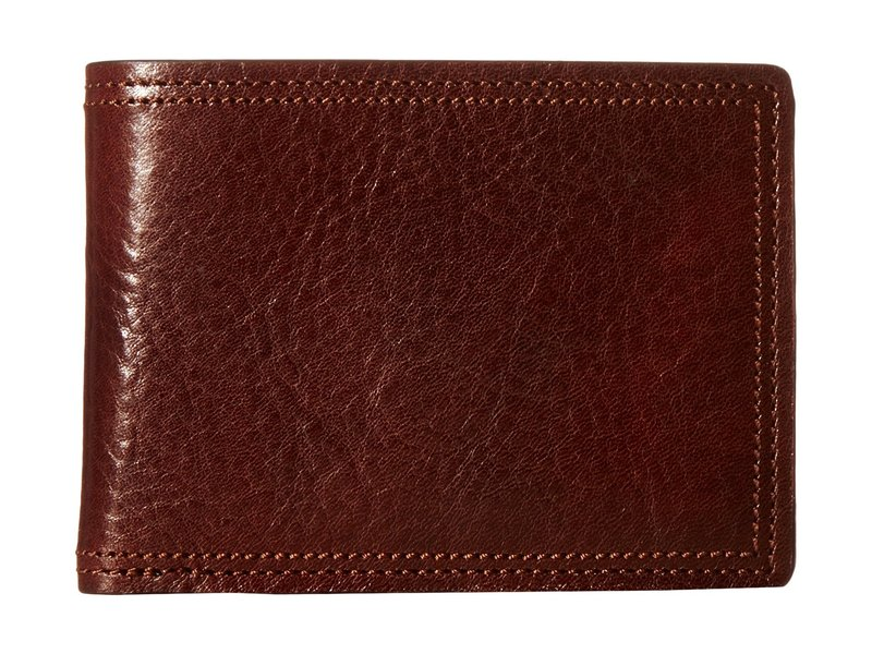 ボスカ メンズ 財布 アクセサリー Dolce Collection - Credit Card Wallet w/ ID Passcase Dark Brown