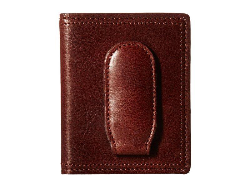 ボスカ メンズ 財布 アクセサリー Dolce Collection - Deluxe Front Pocket Wallet Dark Brown