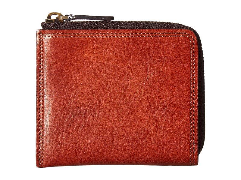 ボスカ メンズ 財布 アクセサリー Dolce Collection - Zip Wallet Amber